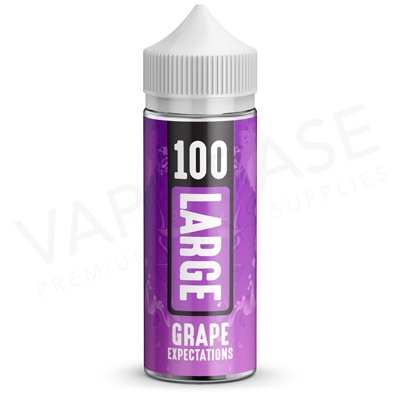Grape Expectations EU Unboxed E-Liquid by 100 Large