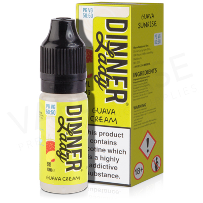 Guava Cream E-Liquid by Dinner Lady Ice 50/50