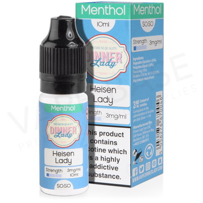 HeisenLady E-Liquid by Dinner Lady Menthol 50/50