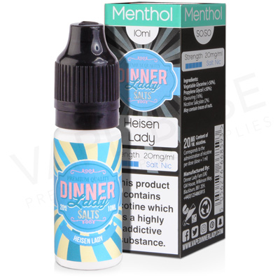 Heisen Lady Salt Nicotine E-Liquid by Dinner Lady