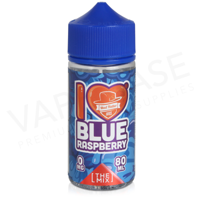 I Love Candy Blue Raspberry E-Liquid by Mad Hatter Juice 80ml