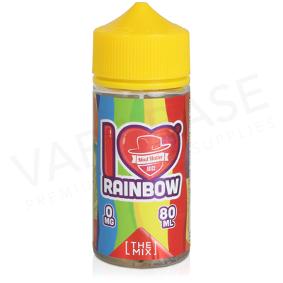 I Love Candy Rainbow E-Liquid by Mad Hatter Juice 80ml