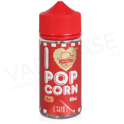 I Love Popcorn Too E-Liquid by Mad Hatter Juice 80ml