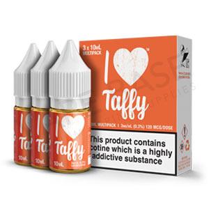 I Love Taffy E-Liquid by Mad Hatter Juice