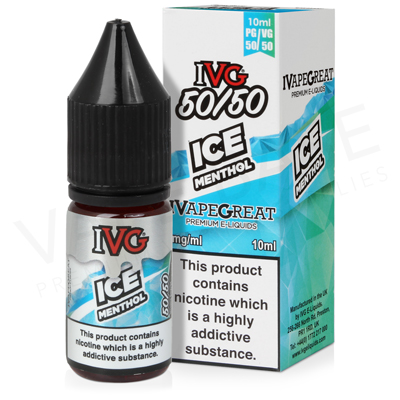 Ice Menthol E-Liquid by IVG 50/50