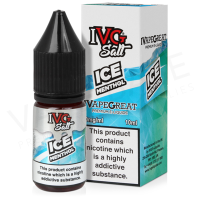 Ice Menthol Nic Salt E-Liquid by IVG Salts