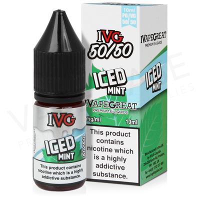 Iced Mint E-Liquid by IVG 50/50