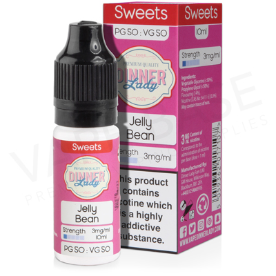 Jelly Bean E-Liquid by Dinner Lady Sweets 50/50