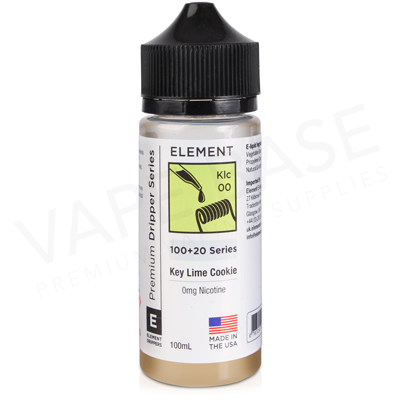 Key Lime Cookie Dripper E-Liquid by Element 100ml