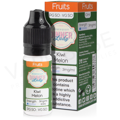 Kiwi Melon E-Liquid by Dinner Lady Fruits 50/50