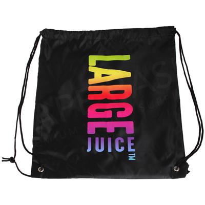 Large Juice Drawstring Bag