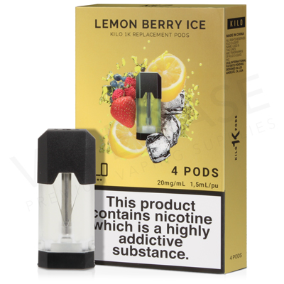 Lemon Berry Ice E-Liquid Pod by Kilo 1K