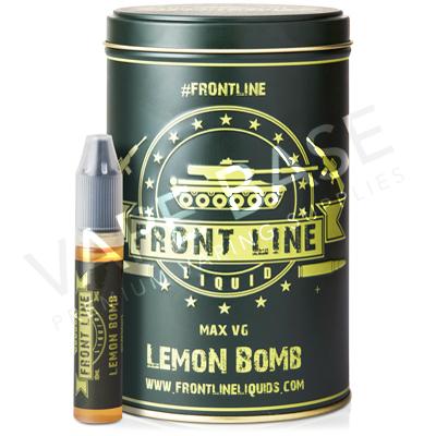 Lemon Bomb E-Liquid by Front Line