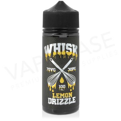 Lemon Drizzle Shortfill E-Liquid by WHISK 100ml