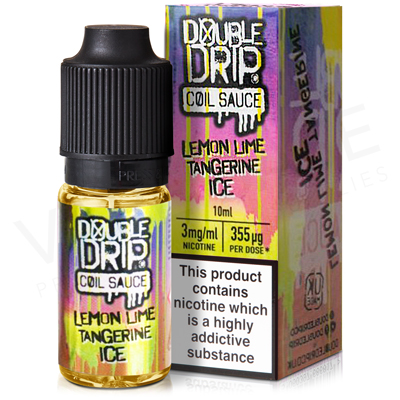 Lemon Lime Tangerine Ice E-Liquid by Double Drip