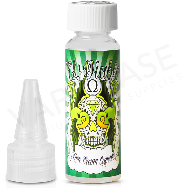 Lime Cream Cupcake High VG E-Liquid by El Diablo 50ml