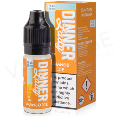 Mango Ice E-Liquid by Dinner Lady Ice 50/50