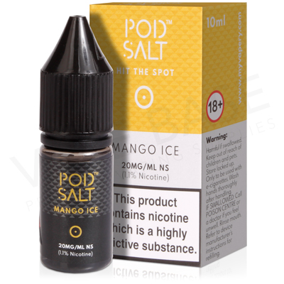 Mango Ice Nicotine Salt E-Liquid by Pod Salt