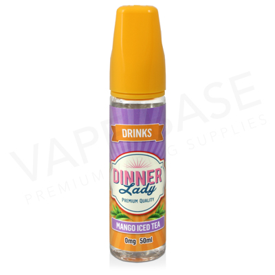Mango Iced Tea Shortfill E-Liquid by Dinner Lady 50ml