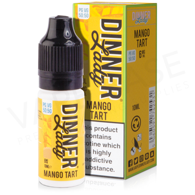 Mango Tart E-Liquid by Dinner Lady Desserts 50/50