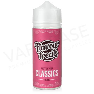 Master Pink Shortfill E-Liquid by Flavour Treats Classics 100ml