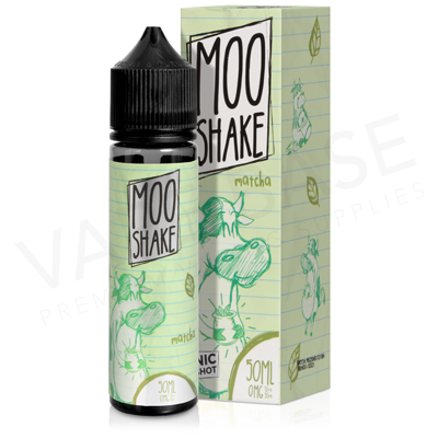 Matcha Shake E-Liquid by Moo Shake
