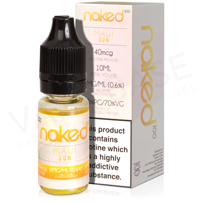Maui Sun E-Liquid by Naked 100