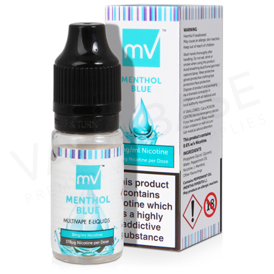 Menthol Blue E-Liquid by Multivape