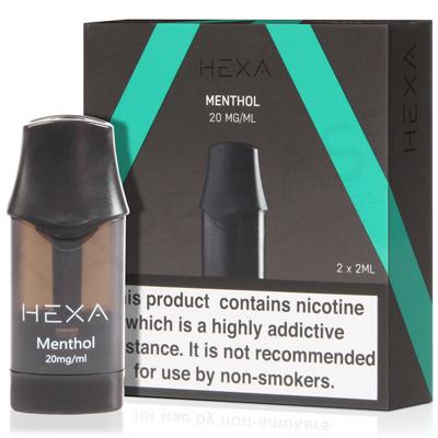 Menthol E-Liquid Pod by Hexa