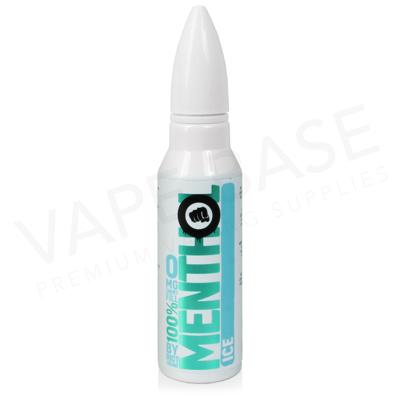 Menthol Ice Shortfill E-Liquid by Riot Squad 50ml