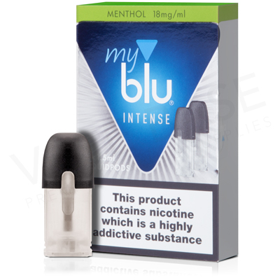 Menthol Salt Nicotine E-Liquid Pod by Myblu Intense