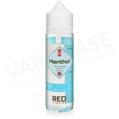 Menthol Shortfill E-Liquid by Red Liquid Classics 50ml