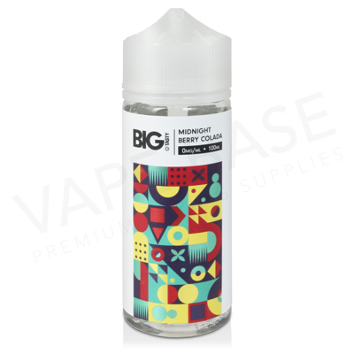 Midnight Berry Colada Shortfill E-Liquid by Big Tasty 100ml