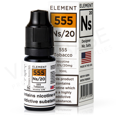 NS20 + NS10 555 Tobacco E-Liquid by Element