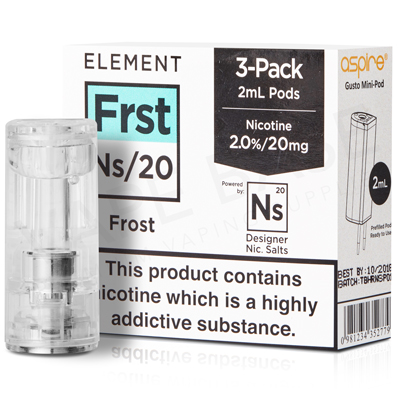 NS20 + NS10 Frost Pod E-Liquid by Element