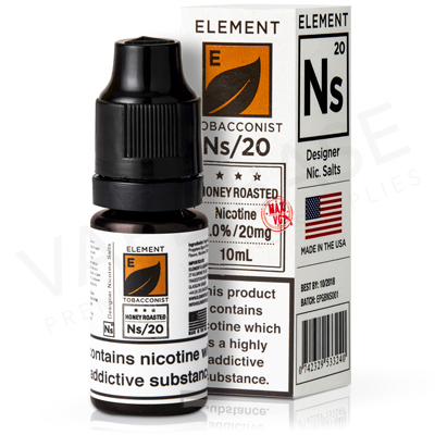 NS Honey Roast Tobacco E-Liquid by Element Tobacconist
