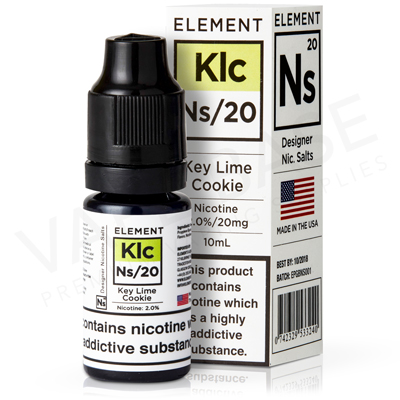 NS20 + NS10 Key Lime Cookie E-Liquid by Element