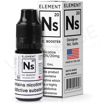 NS20 Nicotine Shot E-Liquid by Element