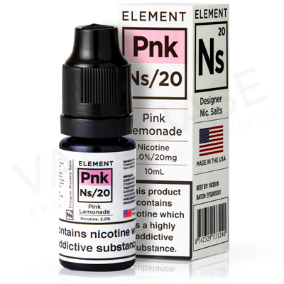 NS20 + NS10 Pink Lemonade E-Liquid by Element