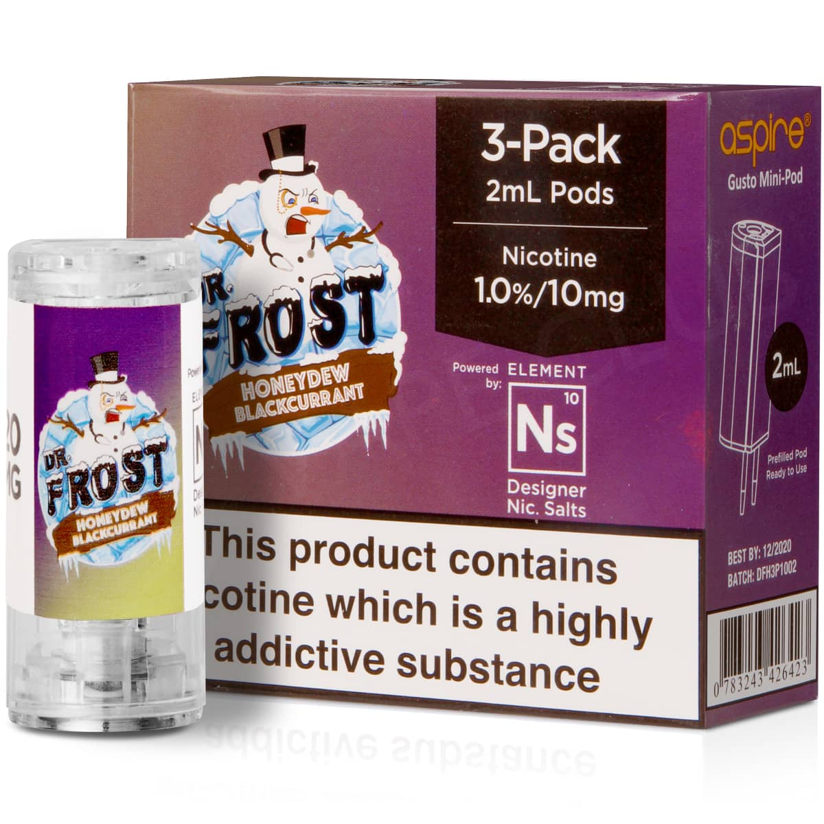 NS20 + NS10 Honeydew Pod E-Liquid by Dr Frost