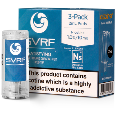 NS20 + NS10 Satisfying Pod E-Liquid by SVRF