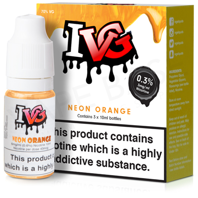 Neon Orange E-Liquid by IVG