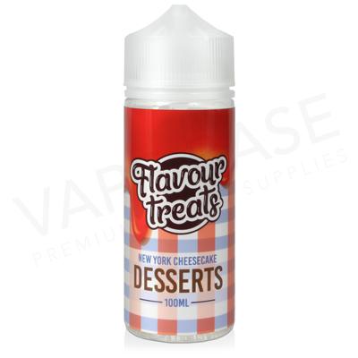 New York Cheesecake Shortfill E-Liquid by Flavour Treats Desserts 100ml