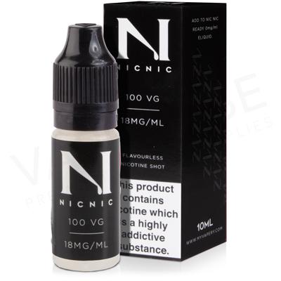 Nic Nic Max VG Nicotine Shot by My Vapery