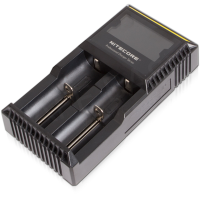 NiteCore D2 Vape Battery Charger (Two Bay)