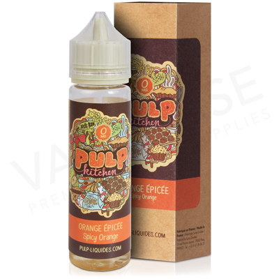 Orange épicée E-Liquid by Pulp Kitchen 50ml