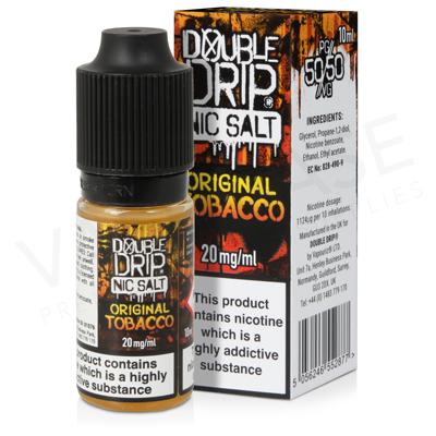 Original Tobacco Nic Salt E-Liquid by Double Drip