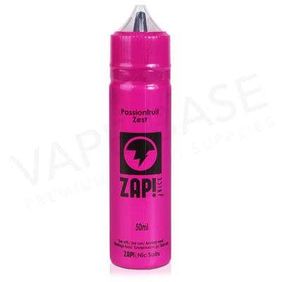 Passionfruit Zest E-Liquid by Zap! Juice 50ml