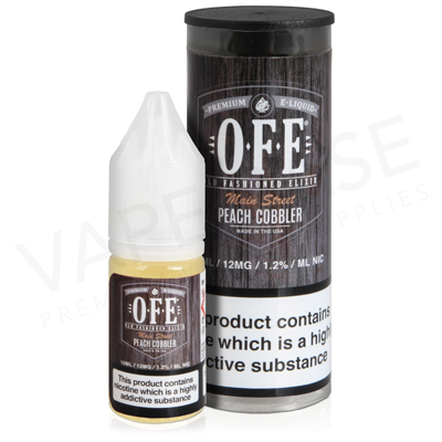 Peach Cobbler E-Liquid by OFE
