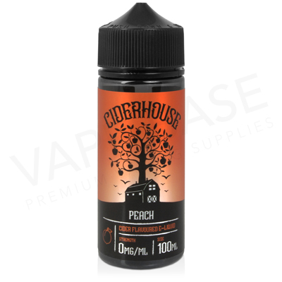Peach Shortfill E-Liquid by Ciderhouse 100ml